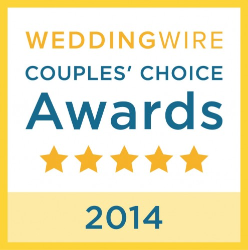 Wedding Entertainment Director® Jeremy Brech of DJ Jer Events & Lighting Design in Sioux Falls, South Dakota, U.S.A. won a 2014 Wedding Wire Couples Choice Award