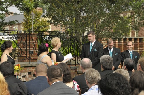 Colonial Williamsburg Bride Chooses Non-Traditional Music for her Ceremony