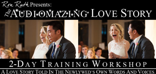 The Audiomazing Love Story Workshop presented by Ron Ruth, WED®
