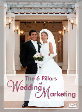 The 6 Pillars of Wedding Marketing DVD presented by Peter Merry